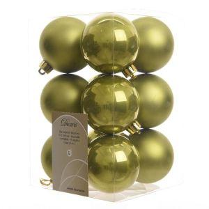 BOLAS VERDE ACEITUNA 300x300 - Bola de navidad personalizada con caja