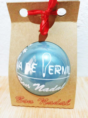 Bola de navidad con logotipo de empresa