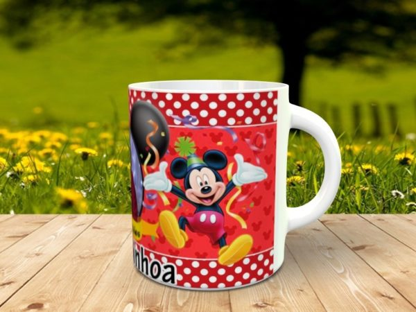 cumple mickey mouse 1 600x450 - Taza mickey mouse para cumpleaños con foto
