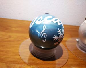 dibujo Clave de Sol 300x239 - Bola de navidad personalizada con caja