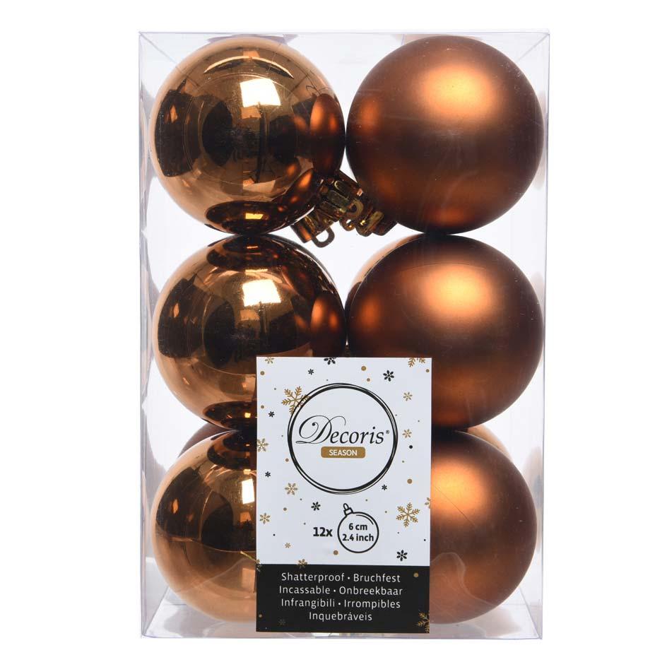 Muestra bolas de Navidad rosewood