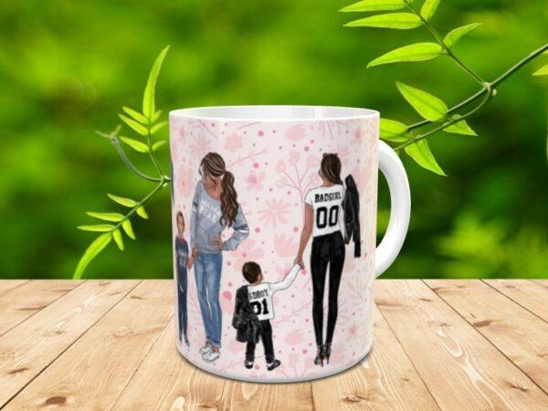 """Mama mothers1 600x450 - Taza para el día de la madre """"Mother's"""""""