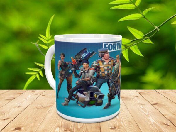 fornite 2x 600x450 - Taza Fortnite 2