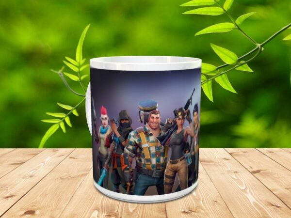 fortnite 7x 600x450 - Taza Fortnite 7