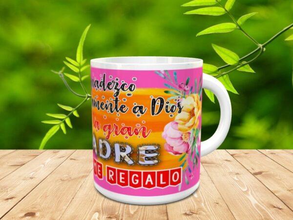 """mama dios3 600x450 - Taza para el día de la madre """"Mamá Dios"""""""