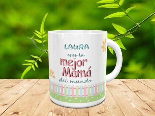 """mama mundoxx 600x450 - Taza para el día de la madre """"Mamá mejor"""""""