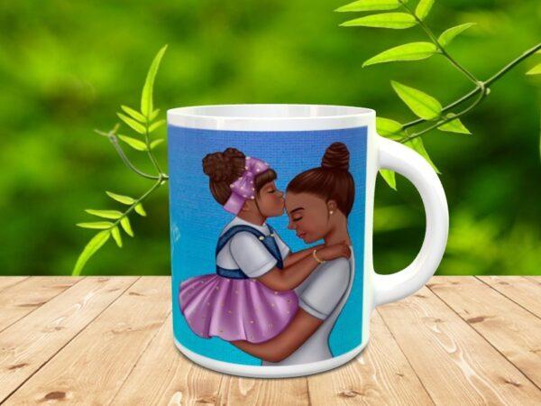 """mama por siempreX 1 600x450 - Taza para el día de la madre """"Mamá para siempre"""""""