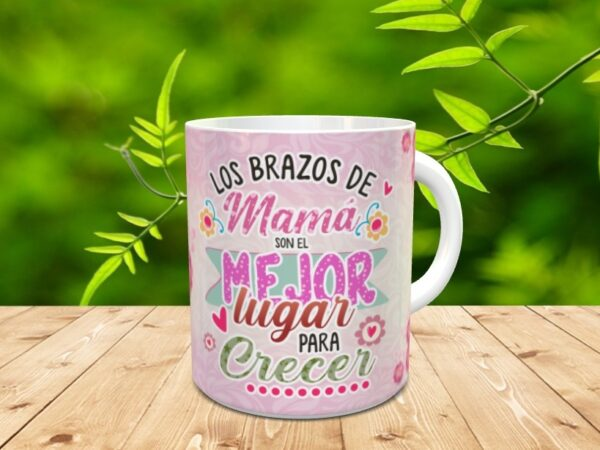 """mamabrazos1 600x450 - Taza para el día de la madre """"Mamá abrazos"""""""