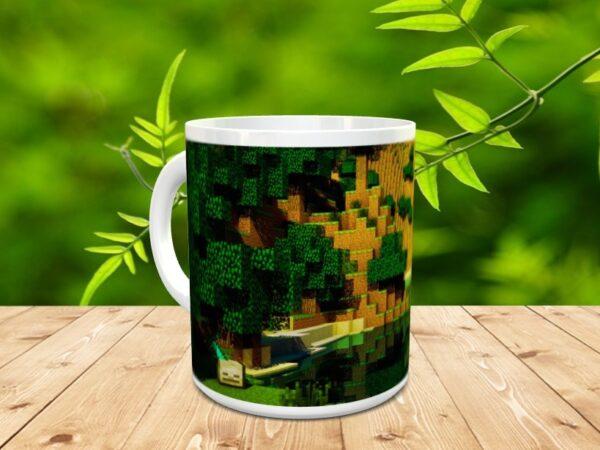 minecraft 2x 600x450 - Taza Minecraft 2