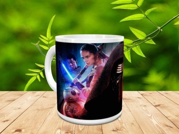 star 7x 600x450 - Taza Star Wars 7