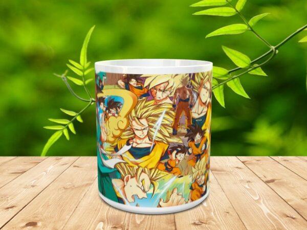 Goku 13xx 600x450 - Taza Son Goku 13