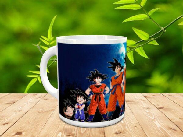Goku 14x 600x450 - Taza Son Goku 14
