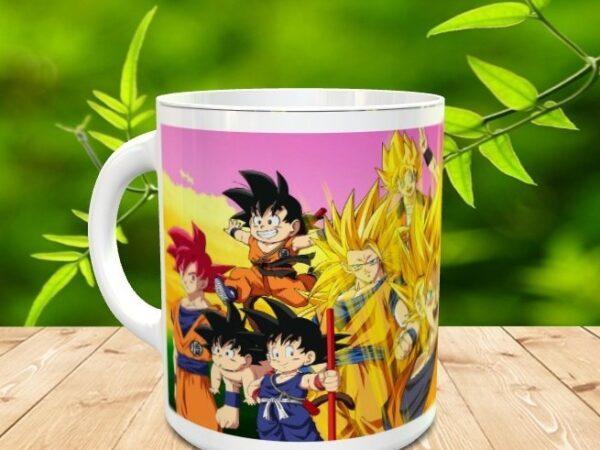 Goku 15x 600x450 - Taza Son Goku 15