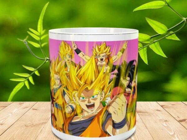 Goku 15xx 600x450 - Taza Son Goku 15