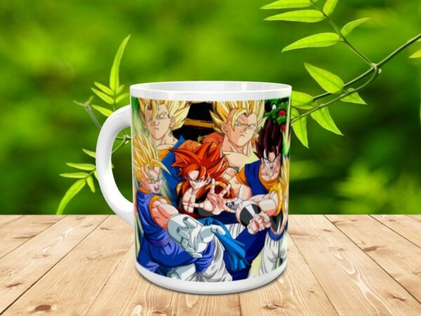 Goku 17x 600x450 - Taza Son Goku 17