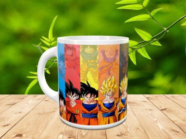Goku 1X 600x450 - Taza Son Goku 1