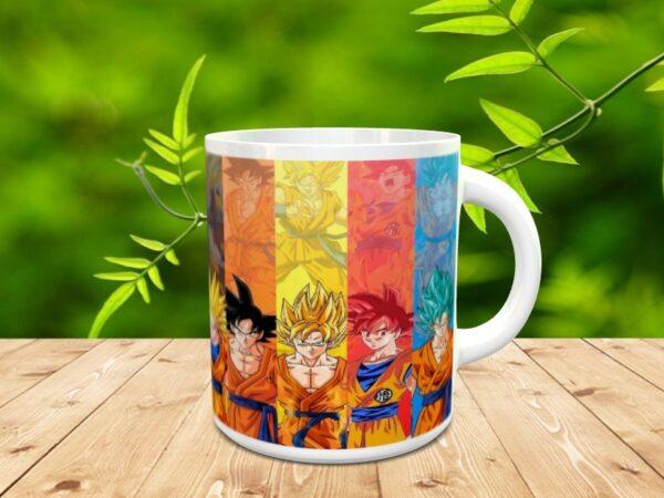 Goku 1xxx 600x450 - Taza Son Goku 1