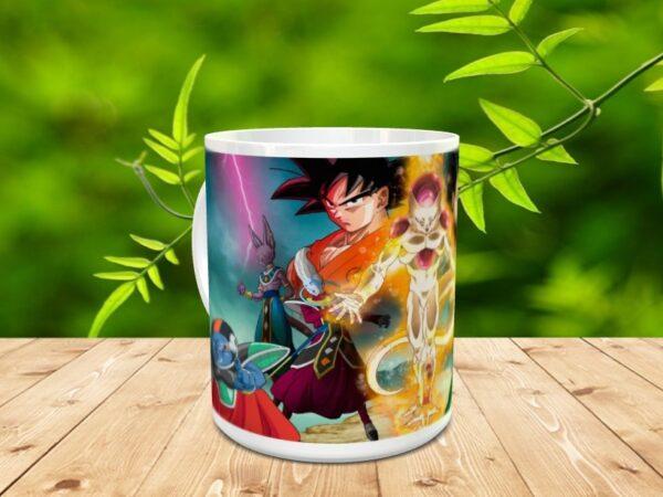Goku 20x 600x450 - Taza Son Goku 20