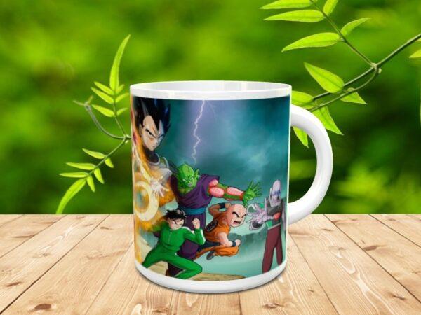 Goku 20xxx 600x450 - Taza Son Goku 20