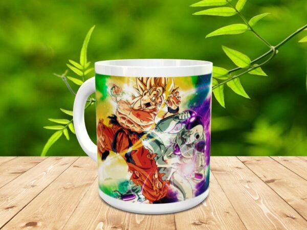 Goku 21x 600x450 - Taza Son Goku 21
