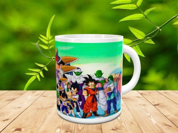 Goku 22x 600x450 - Taza Son Goku 22