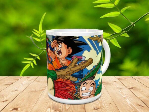 Goku 25x 600x450 - Taza Son Goku 25