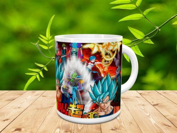 Goku 28x 600x450 - Taza Son Goku 28