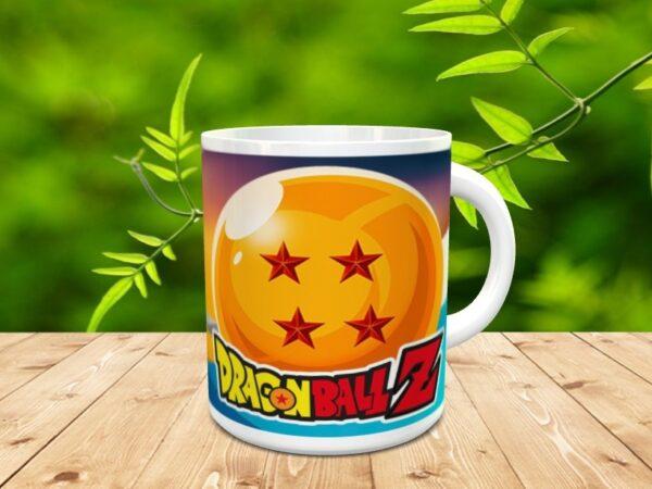 Goku 2x 600x450 - Taza Son Goku 2