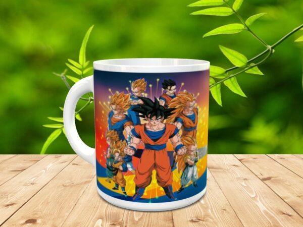 Goku 2xx 600x450 - Taza Son Goku 2