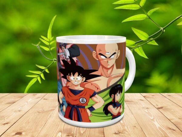 Goku 37xx 600x450 - Taza Son Goku 37