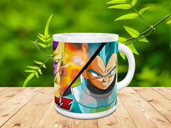 Goku 6x 600x450 - Taza Son Goku 6