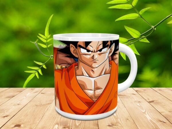 Goku 8xx 600x450 - Taza Son Goku 8