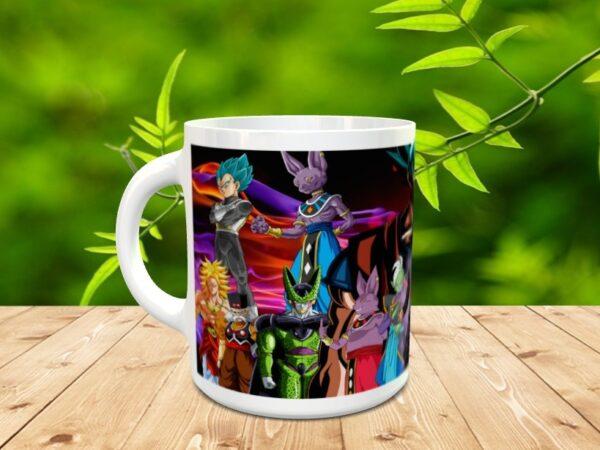 Goku 9x 600x450 - Taza Son Goku 9
