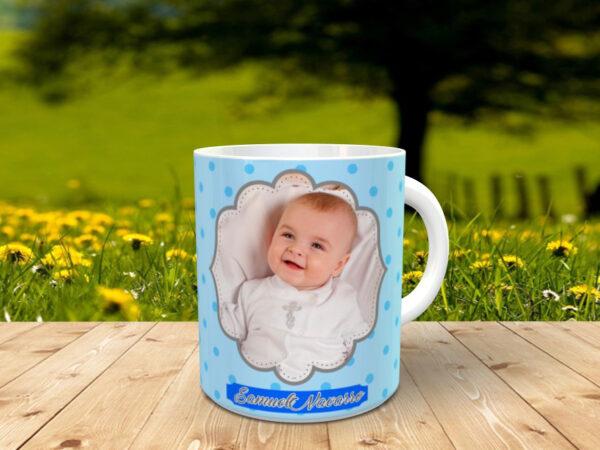 bautizo nino1x 600x450 - Taza personalizada con foto para bautizo