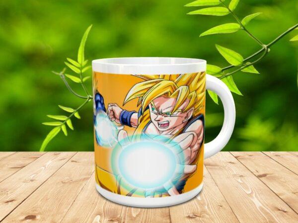 goku 12x 600x450 - Taza Son Goku 12
