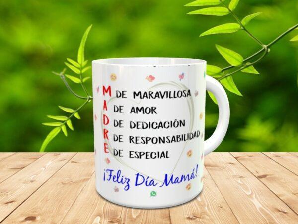 """mamamigax 600x450 - Taza para el día de la madre """"Mamá amiga"""""""
